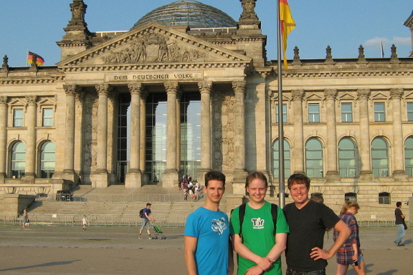 Gergő Dori, me and Johannes Fischer during the BAST Workshop in Berlin, July 8, 2013
